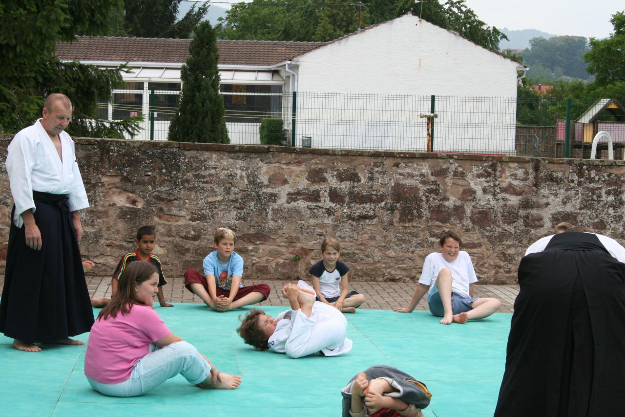 Démonstration Aikido à Marmoutier_20060628_002