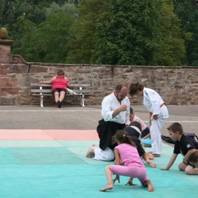 Démonstration Aikido à Marmoutier_20060628_007