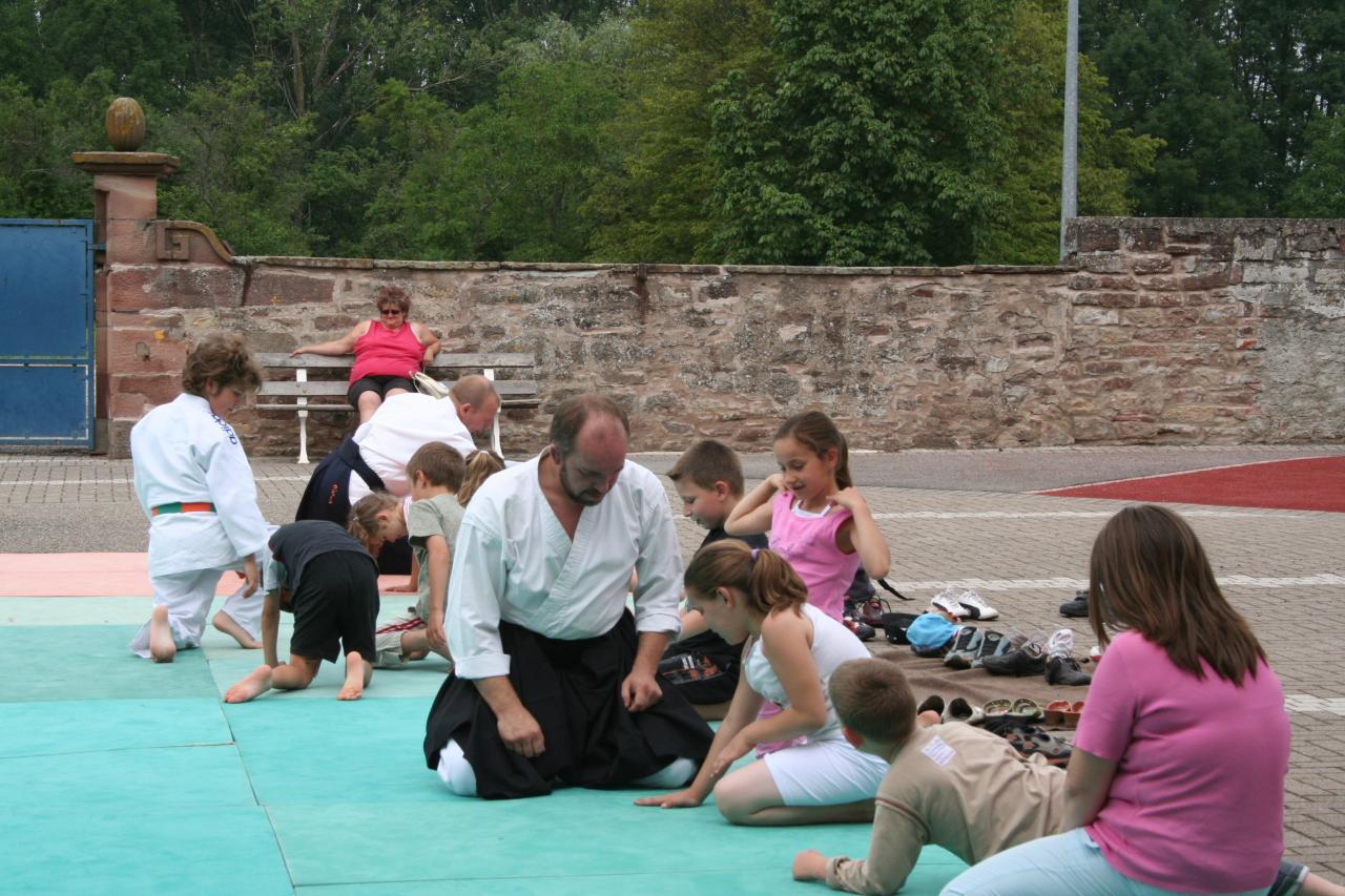 Démonstration Aikido à Marmoutier_20060628_008