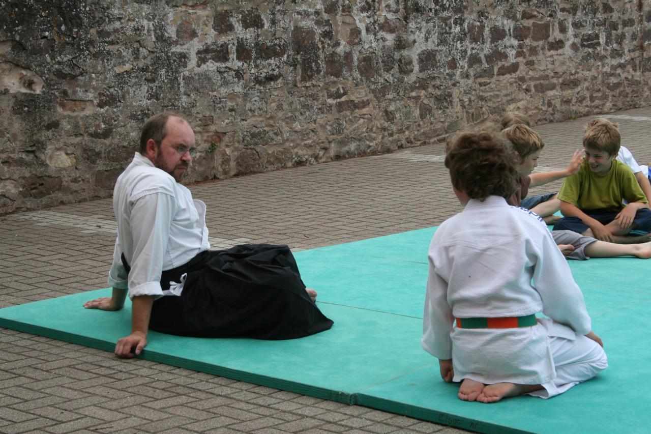 Démonstration Aikido à Marmoutier_20060628_011