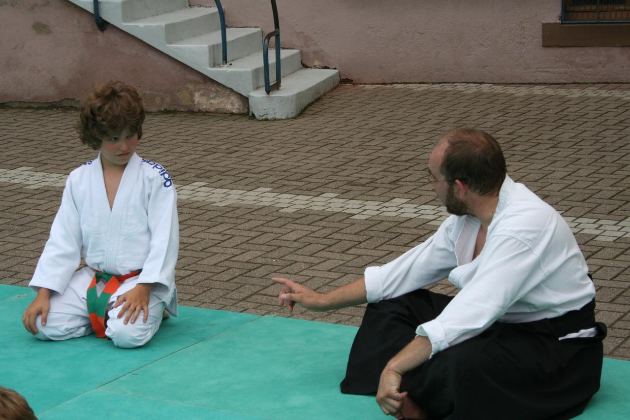 Démonstration Aikido à Marmoutier_20060628_012