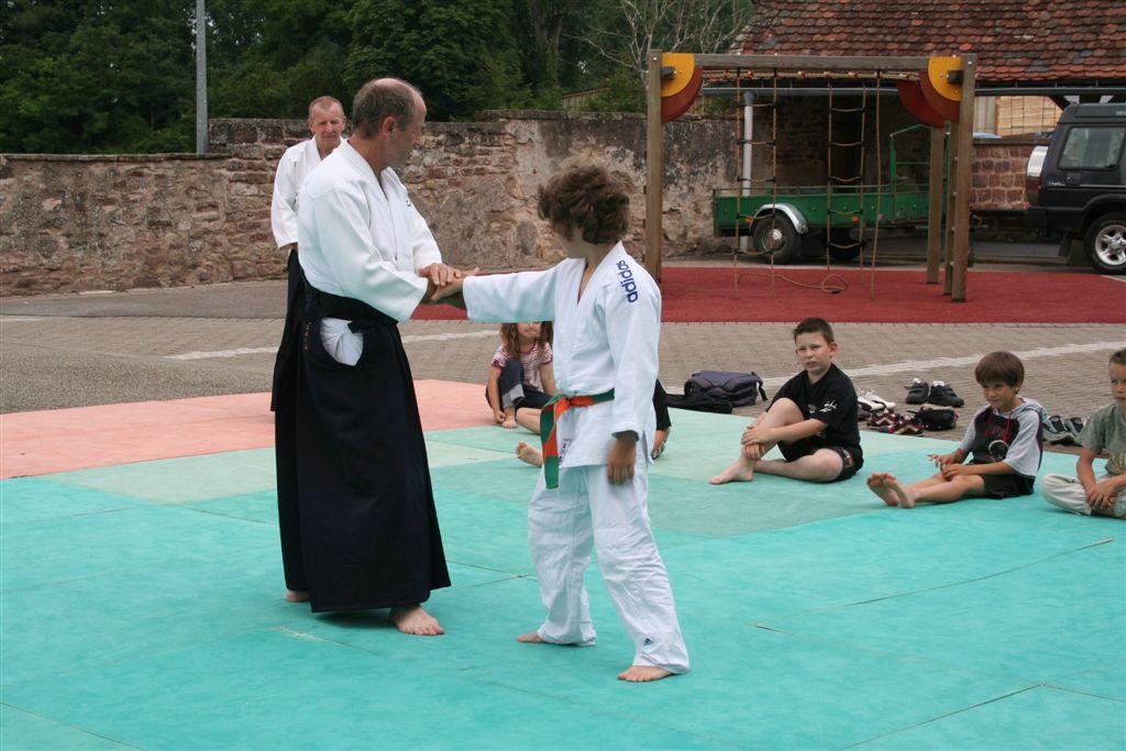 Démonstration Aikido à Marmoutier_20060628_014