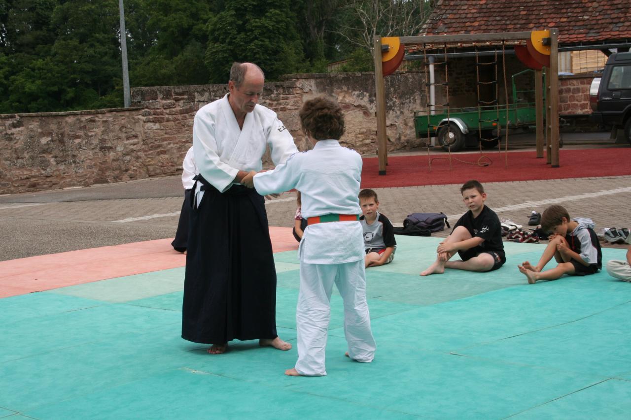 Démonstration Aikido à Marmoutier_20060628_015