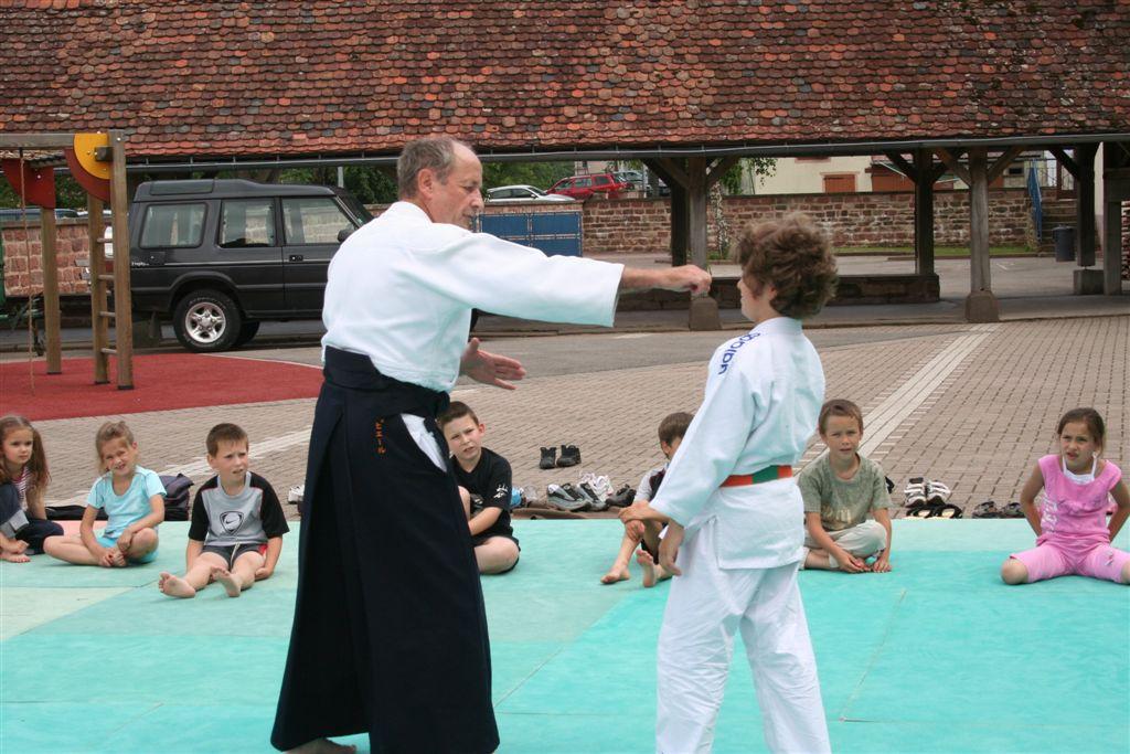Démonstration Aikido à Marmoutier_20060628_018