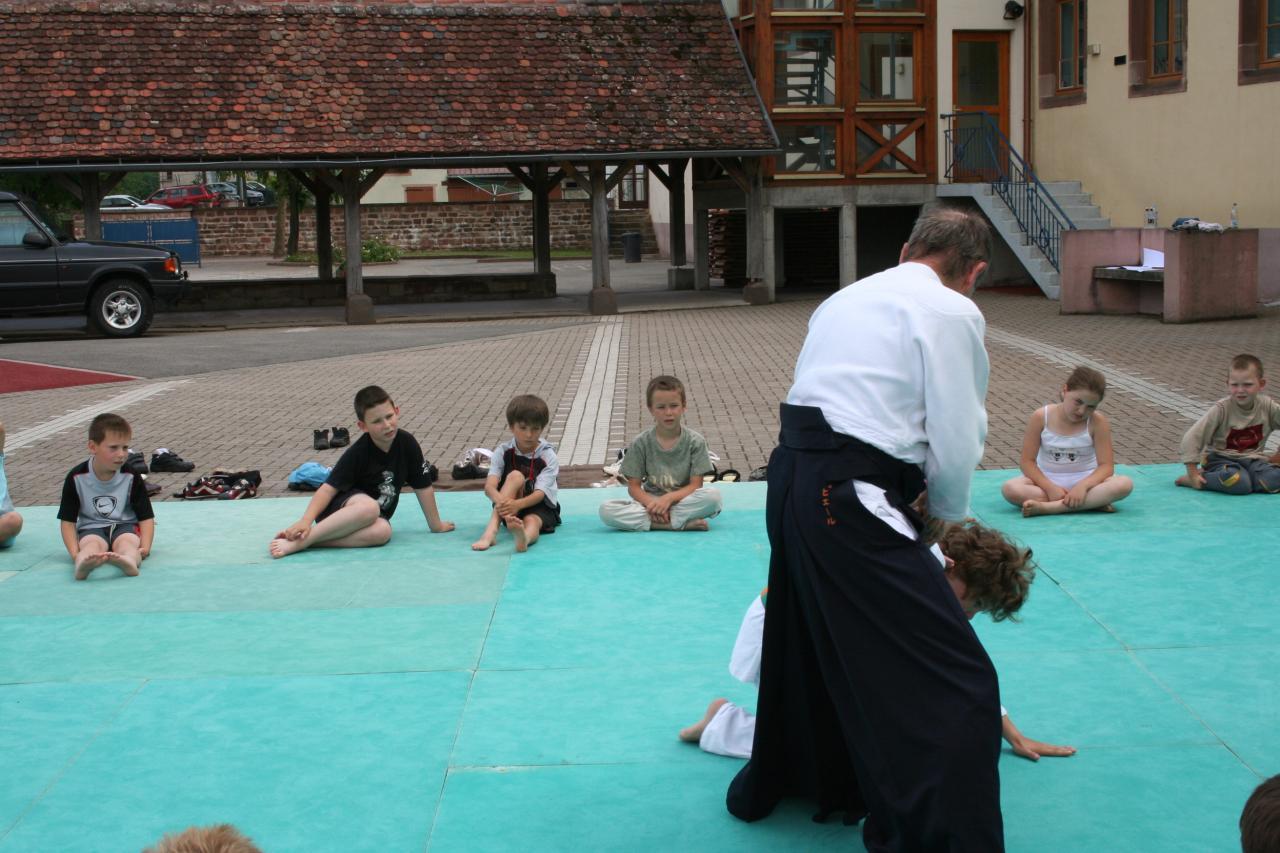 Démonstration Aikido à Marmoutier_20060628_022