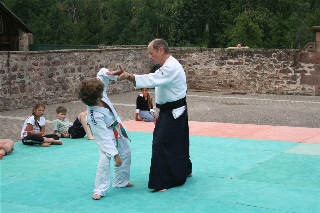 Démonstration Aikido à Marmoutier_20060628_023
