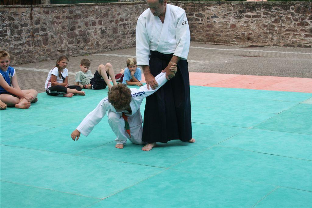 Démonstration Aikido à Marmoutier_20060628_024