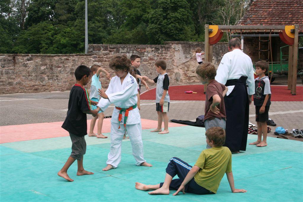 Démonstration Aikido à Marmoutier_20060628_029