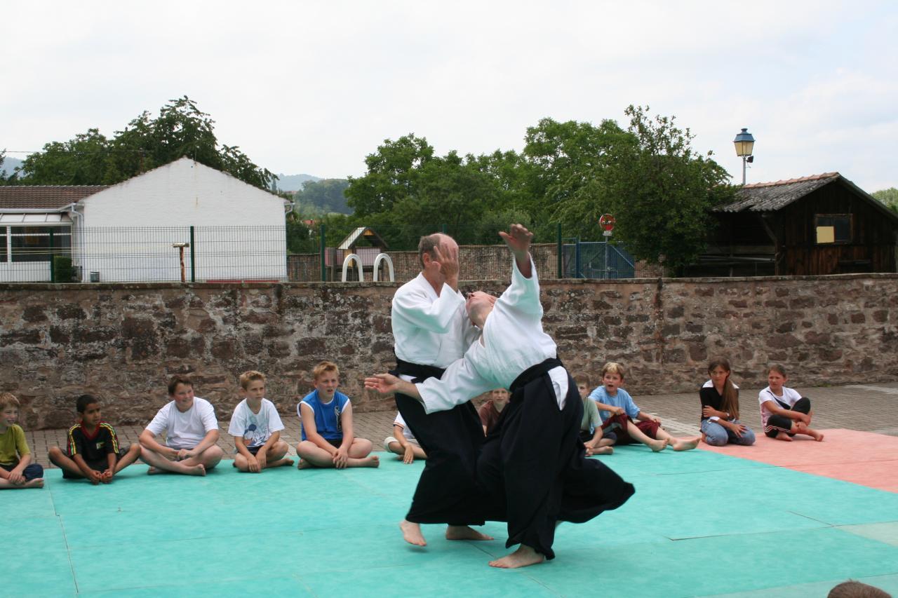Démonstration Aikido à Marmoutier_20060628_034