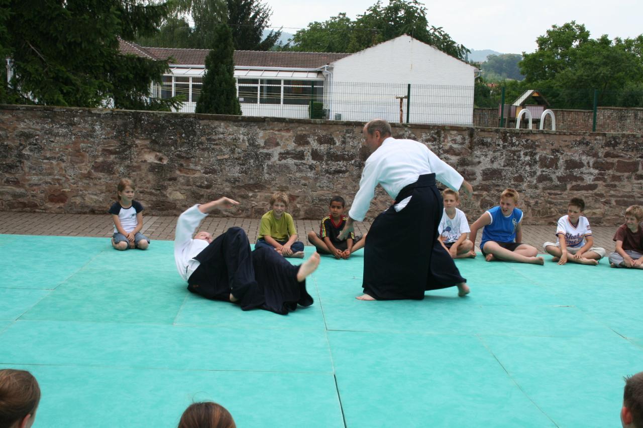 Démonstration Aikido à Marmoutier_20060628_035