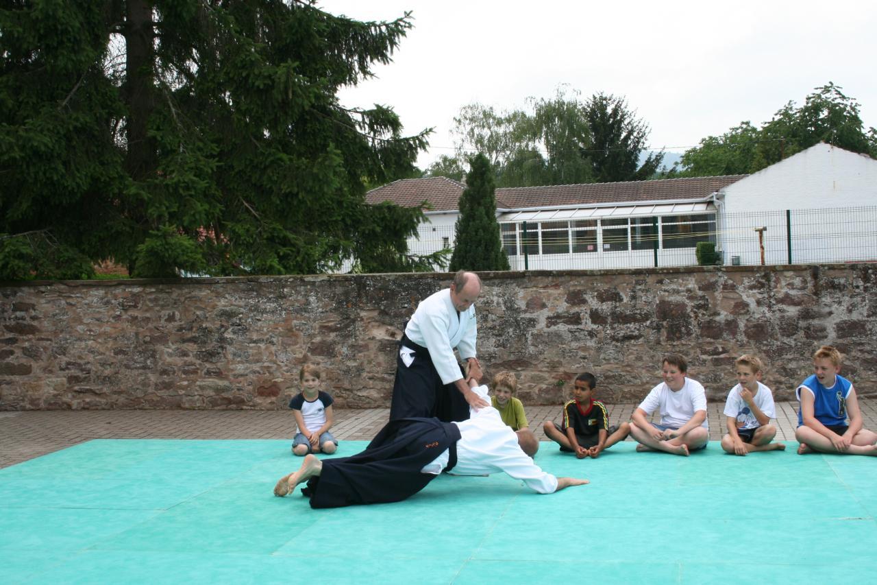 Démonstration Aikido à Marmoutier_20060628_037