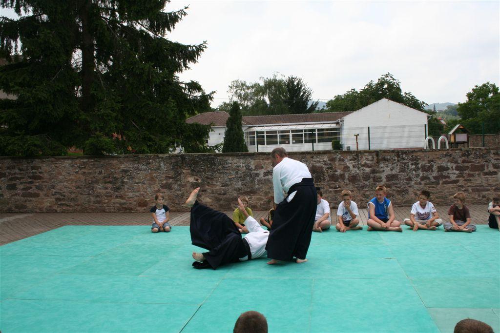 Démonstration Aikido à Marmoutier_20060628_039