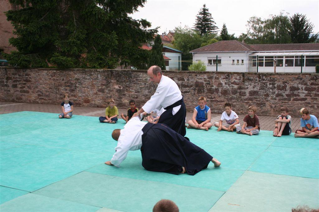 Démonstration Aikido à Marmoutier_20060628_040