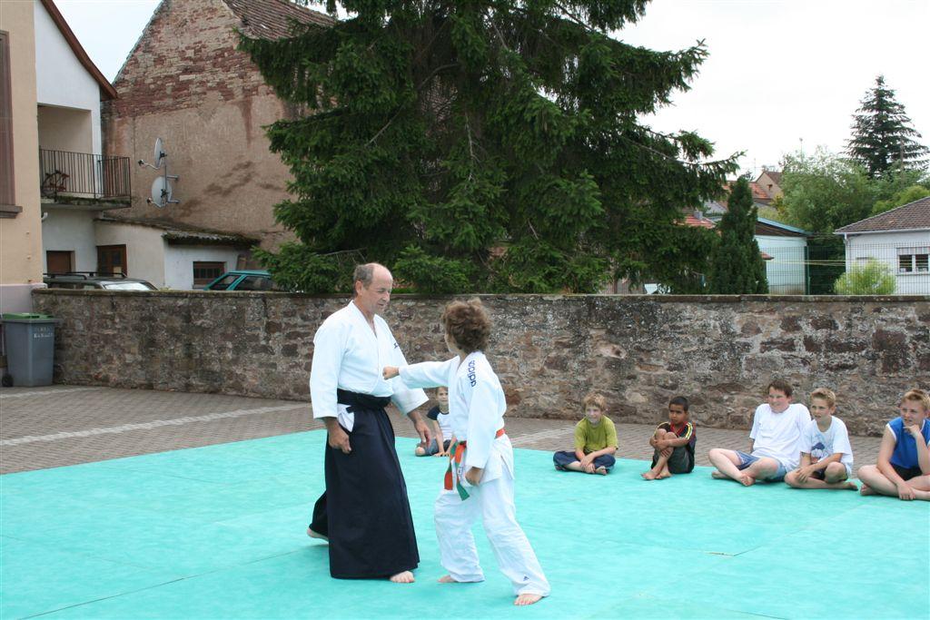 Démonstration Aikido à Marmoutier_20060628_041