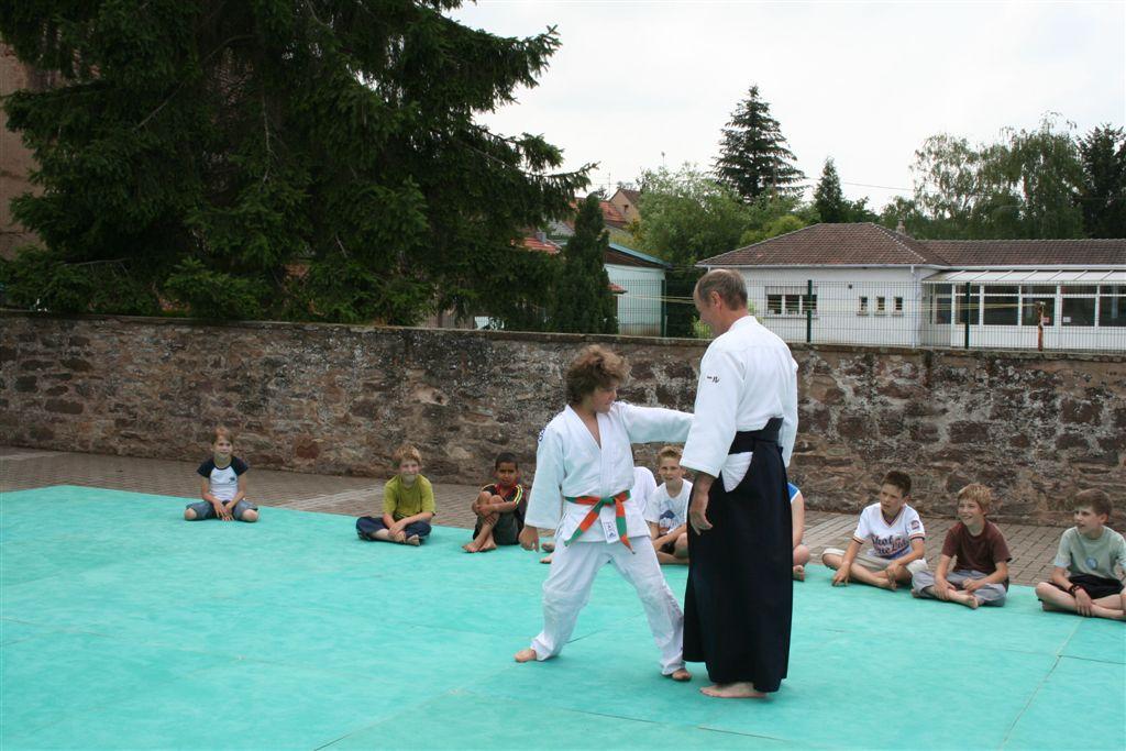 Démonstration Aikido à Marmoutier_20060628_043