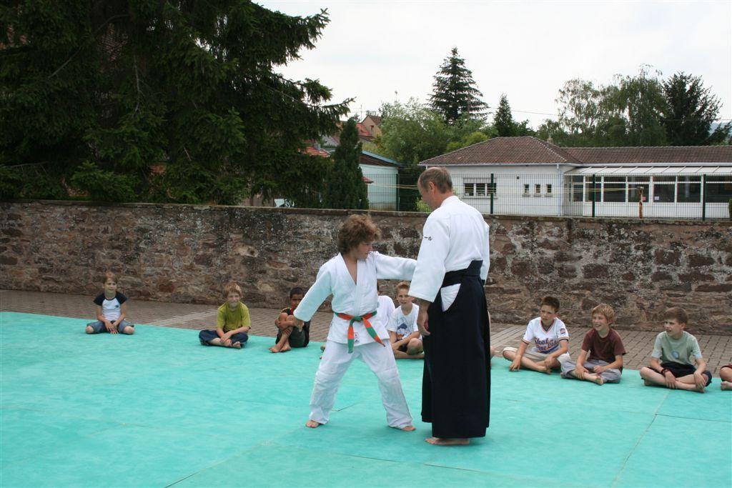 Démonstration Aikido à Marmoutier_20060628_044