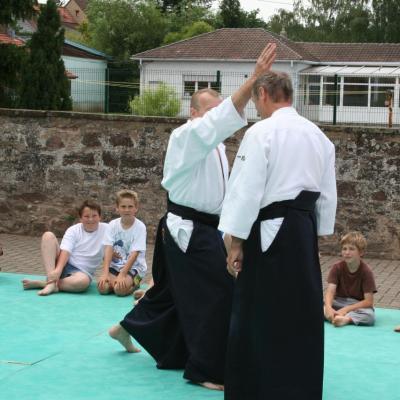 Démonstration Aikido à Marmoutier_20060628_050