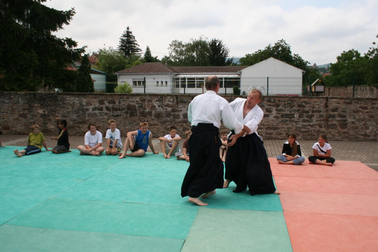 Démonstration Aikido à Marmoutier_20060628_052