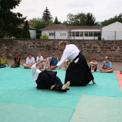 Démonstration Aikido à Marmoutier_20060628_053