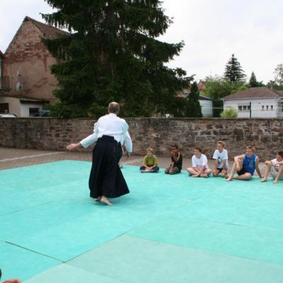 Démonstration Aikido à Marmoutier_20060628_054
