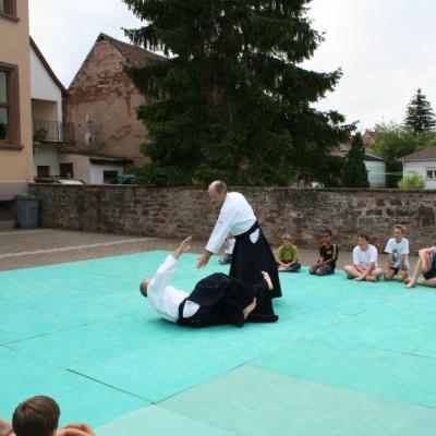 Démonstration Aikido à Marmoutier_20060628_055