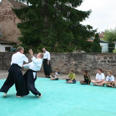 Démonstration Aikido à Marmoutier_20060628_056