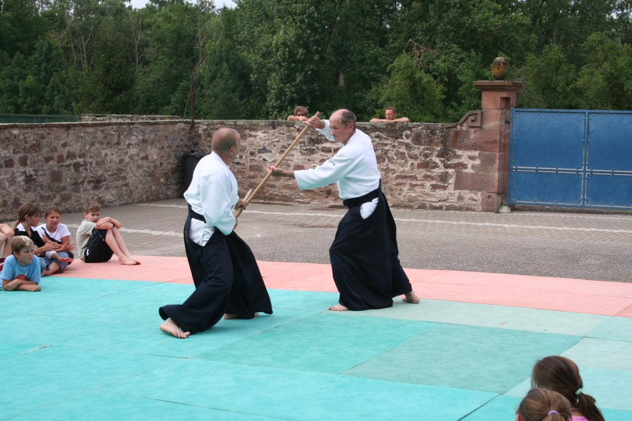 Démonstration Aikido à Marmoutier_20060628_060
