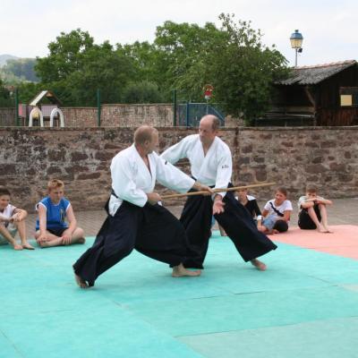 Démonstration Aikido à Marmoutier_20060628_065