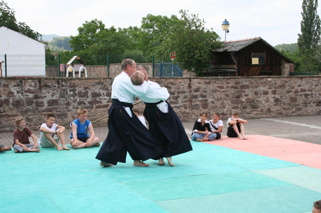Démonstration Aikido à Marmoutier_20060628_066