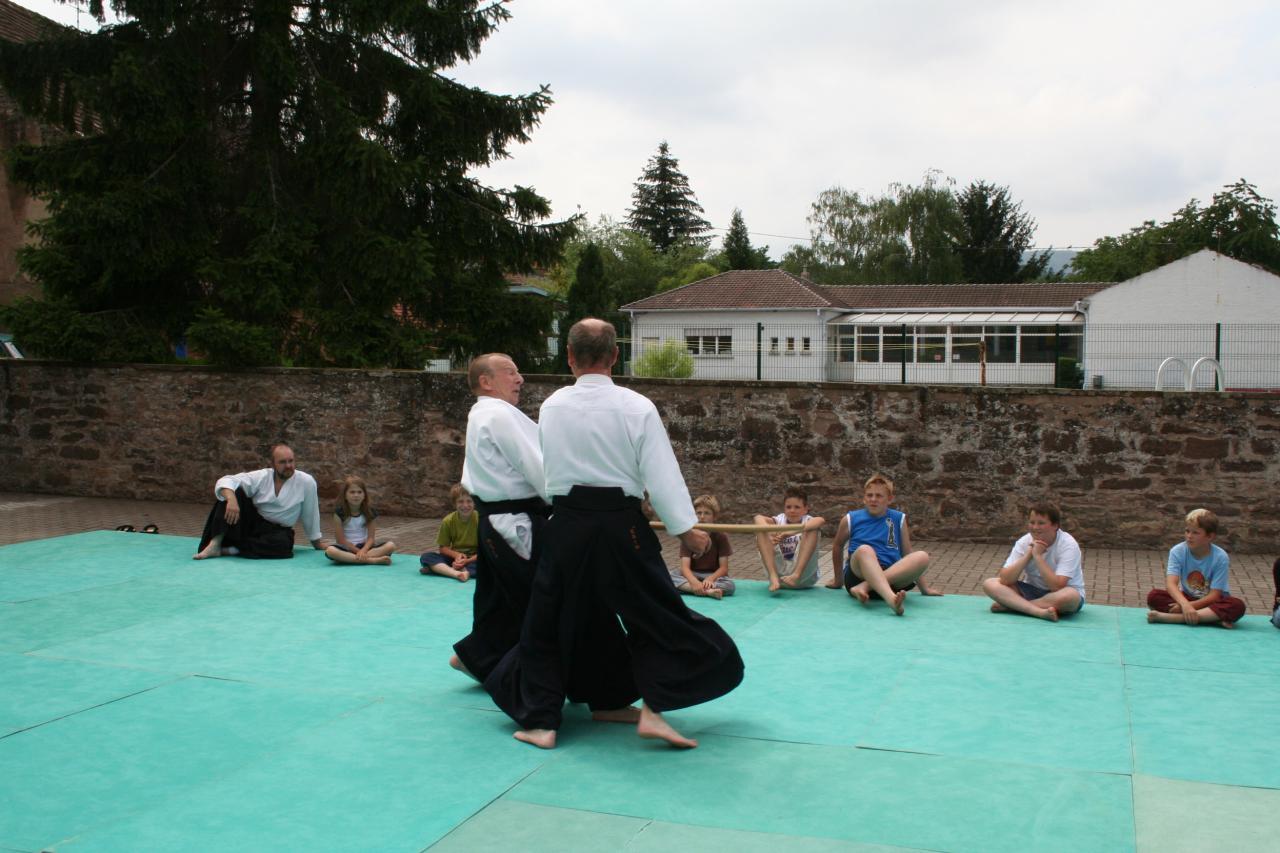 Démonstration Aikido à Marmoutier_20060628_070