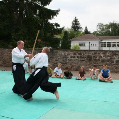 Démonstration Aikido à Marmoutier_20060628_071