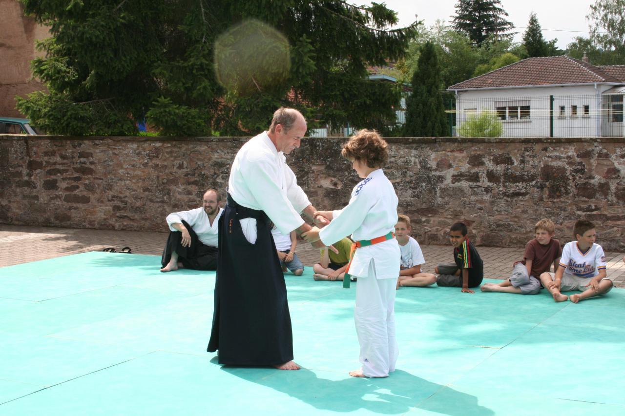 Démonstration Aikido à Marmoutier_20060628_074