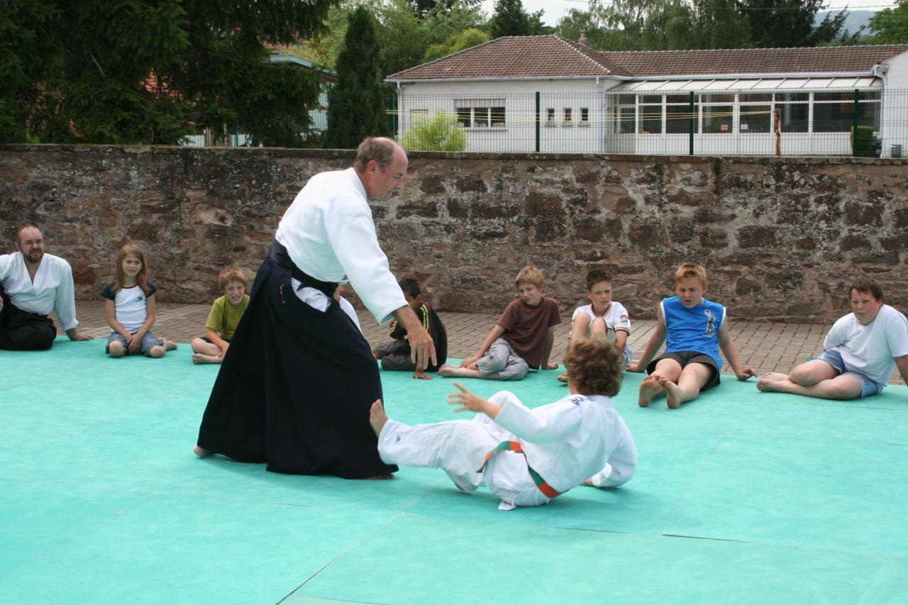 Démonstration Aikido à Marmoutier_20060628_076