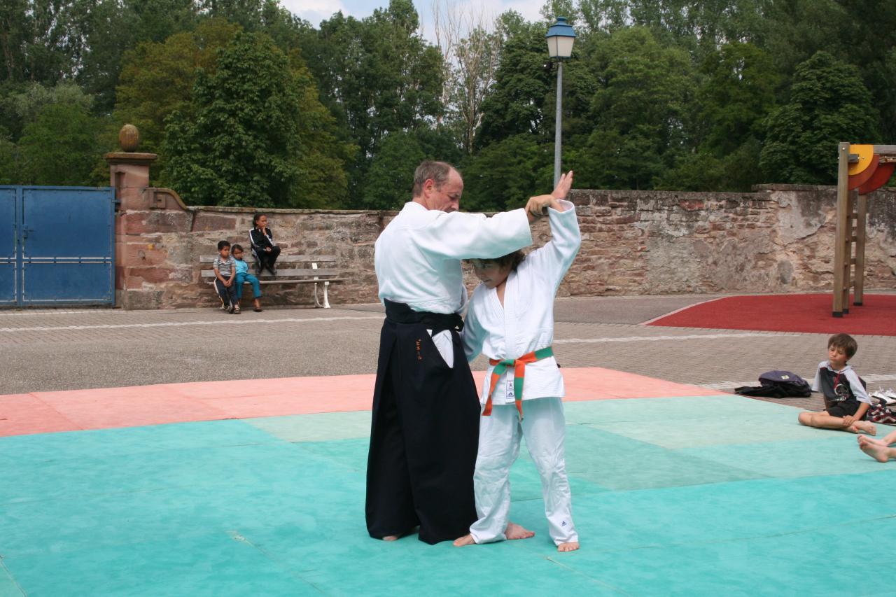 Démonstration Aikido à Marmoutier_20060628_078