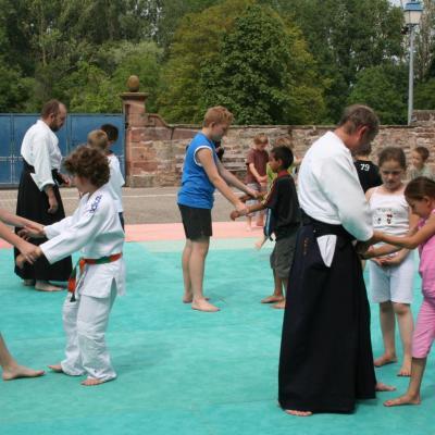 Démonstration Aikido à Marmoutier_20060628_079
