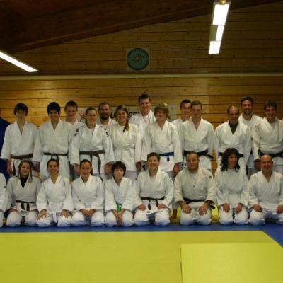 echange aikido /judo 2011/2012